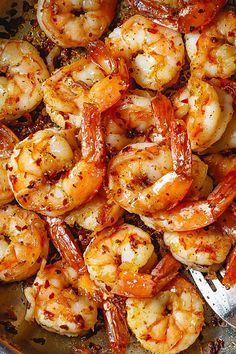 Cajun Shrimp Skillet - Spice up your dinner with these cajun spiced shrimps. - by Cajun Shrimp Skillet - Spice up your dinner with these cajun spiced shrimps. Cajun Shrimp Recipes, Seafood Recipes, Dinner Recipes, Cooking Recipes, Healthy Recipes, Cajun Seasoning Recipe For Shrimp, Recipe For Precooked Shrimp, Recipes With Cooked Shrimp, Simple Shrimp Recipes
