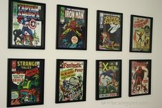 Thrifty Decorating - Boys Superhero Room - THIS HAS TO BE IN THEIR ROOM. LOVE.
