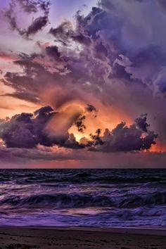 Florida coastal storm