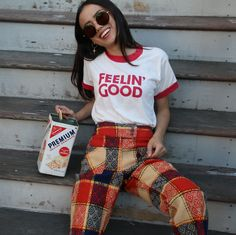 Feelin' Good, but looking even better  Still munching on those leftovers... #campcollection