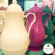 Garrafas termicas Rice da dinamarca tem na Originatto ideias Criativas. Coloridas e com design encantador.
