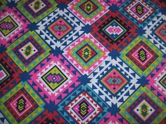 New Multicolor Lightweight Tribal Print For Upholstery Drapery Sold Per Yard for Home Decor Accents, Chair Cushions, Pillow,Tote bags. by tambocollection on Etsy