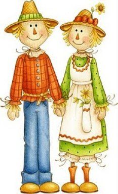 COUNTRY COUPLE CLIP ART