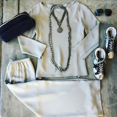 Slaying in shades of grey and silver #streetstyle #everydayisarunway #ootd #lookoftheday #goldengoose #petercohen #tomford #nanfusco @nanfusco Abejas Boutique