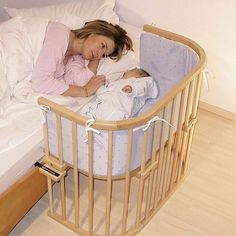 attachable baby cot