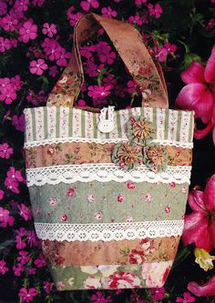 Sugar & Spice   Cute applique and stitchery bag PATTERN  by kate54, $11.95