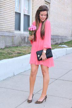 Pretty in Pink Valentine's Date Night Dress