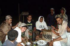 Evening with Bedoin family near Radigh, Saudi Arabia.
