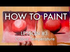 Michael Markowsky reveals the secrets of colour temperature and how they can be used when mixing acrylic paint. He also describes how using cool colours in t. Painting Lessons, Painting Tips, Painting Canvas, Acrylic Tutorials, Painting Tutorials, Color Mixing Chart, Body Tutorial, Painted Vans, Warm And Cool Colors