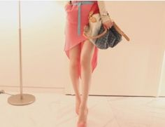 Slim Skirt Red Slim Waist, Ballet Skirt, Skirts, Red, Beautiful, Dresses, Design, Fashion, Tiny Waist