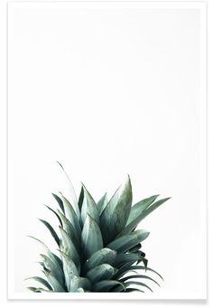 Pineapple als Premium poster door Christoph Abatzis | JUNIQE