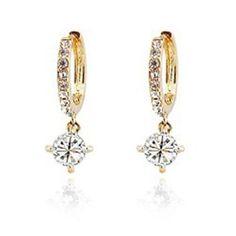 LYEP femelle bijoux exquis sautoir Boucles d'oreilles Bracelets Boucles d'oreilles chaîne de chandail (or Blanc)