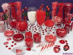 Red Candy Buffet   by candywarehouse