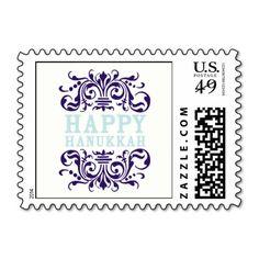Happy Hanukkah!  #hanukkah #postage #stamps #hanukkahstamps