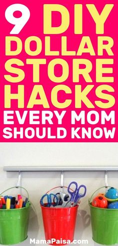 Dollar Store hacks can make your life a lot easier on a budget. These DIY Dollar Store hacks are great mom hacks. Dollar Store Hacks, Dollar Stores, Mom Hacks, Baby Hacks, Parenting Teens, Parenting Hacks, Infant Activities, Learning Activities, Organized Mom