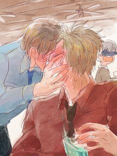 Hetalia (ヘタリア) - Denmark x Norway (DenNor) (デンノル) -「ほぐおらくがきまとめ・4と通販のお知らせ」/「いちず」の漫画 [pixiv]