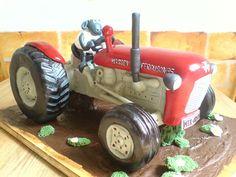 Massey Ferguson35 cake