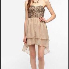 Hi-Low Sparkle Dress