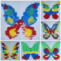 mš - otisk - motýli