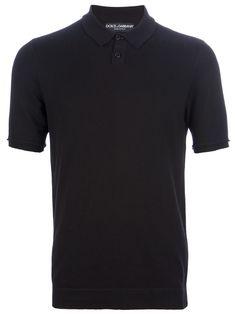 DOLCE & GABBANA  slim fit polo shirt