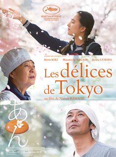 Superbe >>> Les dorayakis sont des pâtisseries traditionnelles japonaises qui se composent de deux pancakes fourrés de pâte de haricots rouges confits, « AN ».Tokue, une femme de 70 ans, va tenter de convaincre Sentaro, le vendeur de dorayakis, de l'embaucher. T...
