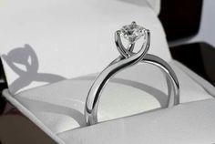 Perfecto anillo de compromiso