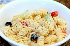 Creamy Pasta Salad!