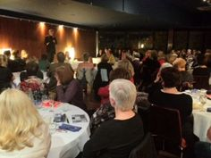 Graeme Simsion, author of THE ROSIE PROJECT, talks to 85 book club members at Portobello Restaurant in Essendon for Book Bonding Independent Bookstore.