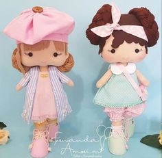 Knitted Dolls, Felt Dolls, Butterfly Cakes, Be My Baby, Diy Doll, Animal Paintings, Felt Crafts, Sewing Projects, Alice