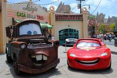 Cars Land, opening Friday in Disneys California Adventure park next door to Disneyland, marks the grand finale of a five-year expansion of the Anaheim, Calif. Would you visit? Disney Resorts, Disney Vacations, Disney Trips, Disneyland 2016, Disneyland Resort, Disney California Adventure, Cars Land, Thing 1, Disney Cars