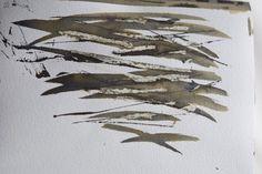 Helen Terry - A daily practice - part two Sketchbook Inspiration, Art Sketchbook, Driftwood Wall Art, Sumi Ink, Fountain Pen Ink, Mark Making, Textile Artists, Art Techniques, Art Tutorials