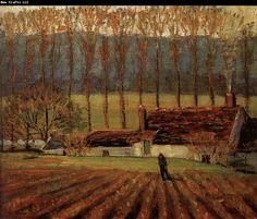 Truck Garden+ Moret - Wood, Grant (American, 1892 - Fine Art Reproductions, Oil Painting Reproductions - Art for Sale at Bohemain Fine Art American Realism, American Artists, Grant Wood Paintings, Artist Grants, Vegetable Farming, Wood Artwork, American Gothic, American Modern, Portraits