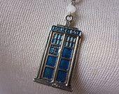 etsy - TARDIS charm