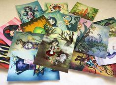 ACEO - Artist Trading Card -Fairytale Artwork. $3.00, via Etsy.