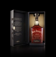 Cue - Jack Daniel's 150th Anniversary Super Premium Whiskey PACKAGING DESIGN World Packaging Design Society│Home of Packaging Design│Branding│Brand Design│CPG Design│FMCG Design