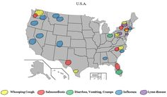 Symptom Maps updated! Whooping Cough refusing to go away...