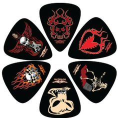 Perris Leathers LP-VK8 Medium Celluloid Plastic, 6-Pieces per Package Guitar Picks by Perris Leathers. $4.80. Guitar Picks, Medium Celluloid Plastic, 6 pieces per package, Made In Canada, Players Pick.. Save 52% Off!