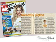 Przygotuj się do wiosny! Porady Dr Joanny Magdziarz-Orlitz znajdziecie w Tele Tygodniu :)