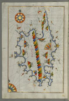 Oh man.  Illuminated manuscript maps.