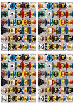Lego Invitation - free printables!