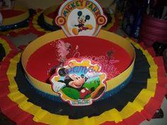 como hacer bandeja decorada para cumpleaños - YouTube