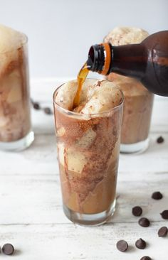 chocolate root beer float + sugar and cloth 3
