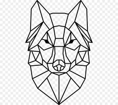 Lobo Tribal, Tier Wolf, Geometric Wolf, Symbols And Meanings, Animal Totems, String Art, Animal Drawings, Geometry, Stencils
