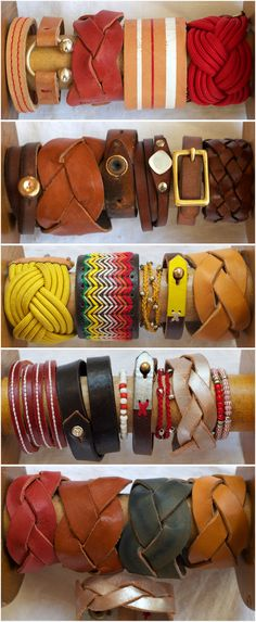My Handmade Bracelet Collection September 25, 2012 by elke