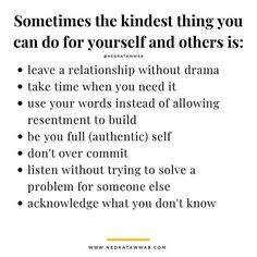 "Nedra Glover Tawwab, Therapist on Instagram: ""In being kind to yourself, you are setting the foundation for healthy relationships with others. Small acts of self-kindness are…"""