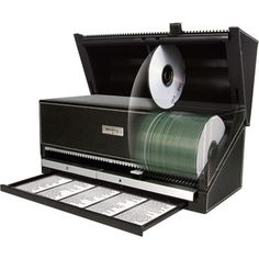Get organized with this handy CD/DVD disc selector. This clever device lets you store and catalog 100 CDs DVDs and/or video game discs in a space-saving ...  sc 1 st  Pinterest & Discgear Auto 100-CD / DVD / Game Automatic Disc Retrieval System ...