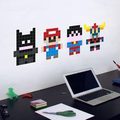 Mini Heroes Decal by Stickaz