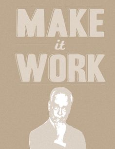 Make it work!  free #printable