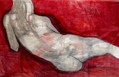 Red Figure   $7,000 Original  4'x7'