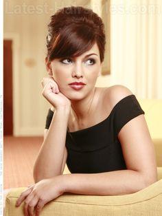 10 Stunning Updos for Medium Length Hair